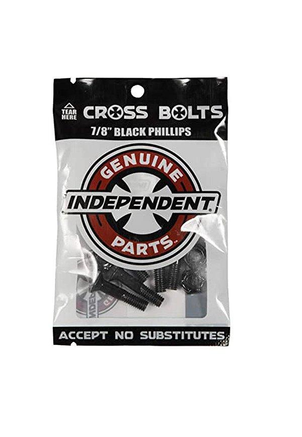 """Parafuso De Base Independent Phillips Black 7/8"""""""