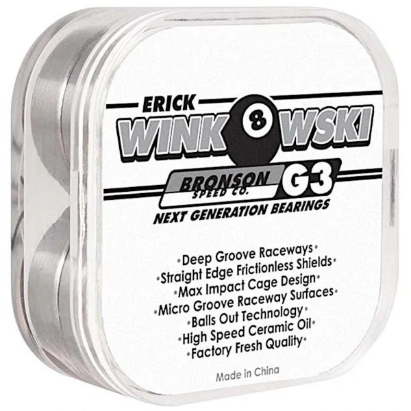 ROLAMENTO BRONSON G3 ERICK WINKOWSKI - EXCLUSIVO