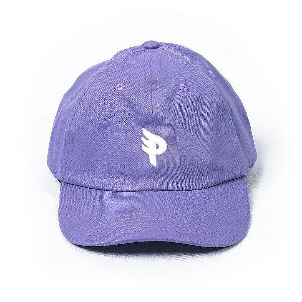 Bone Posso Logo Mini P Dad Hat - Purple