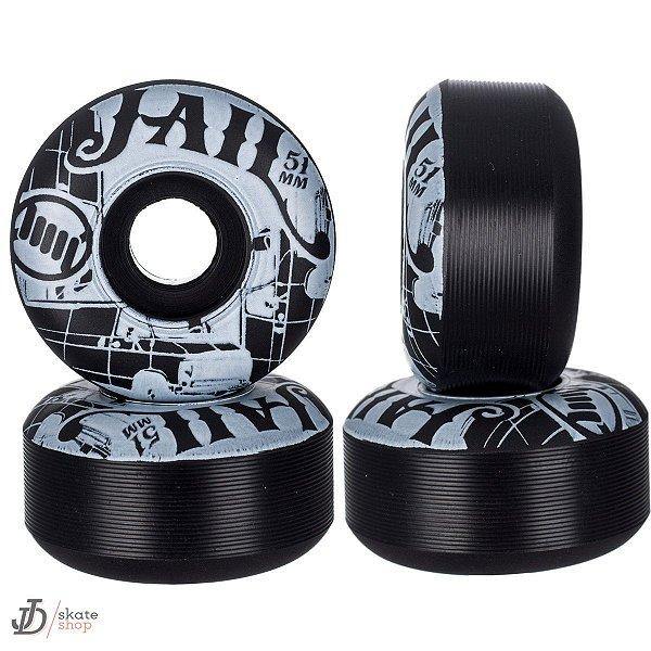 Roda Jail Leitosa Black 51mm