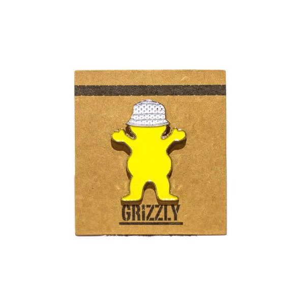 PIN GRIZZLY BUCKET BEAR
