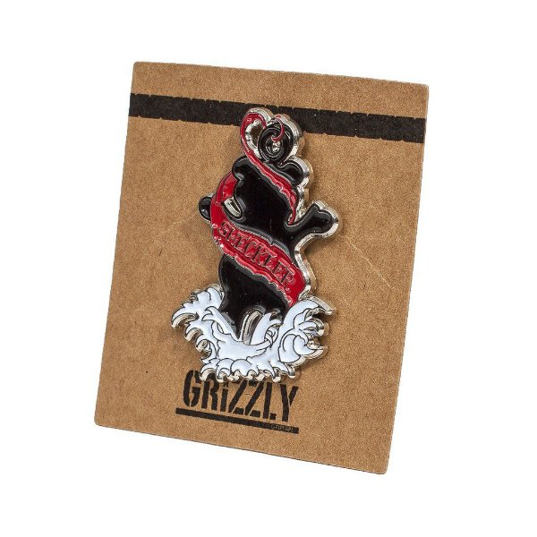 PIN GRIZZLY INKED