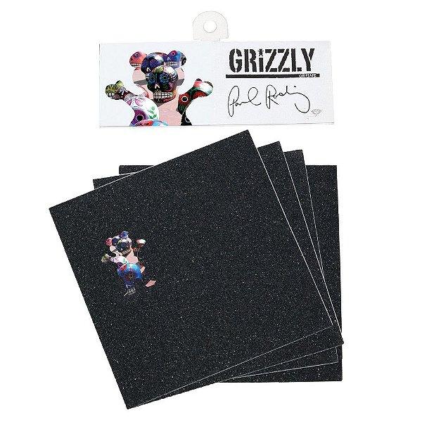 Lixa Grizzly Griptape Prod Pro - 4 partes