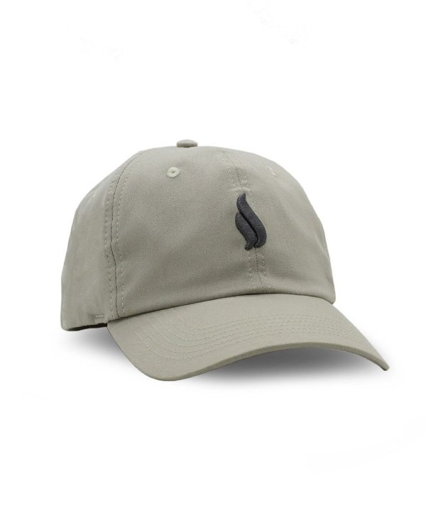 BONÉ DAD HAT SIMPLE LOGO KHAKI