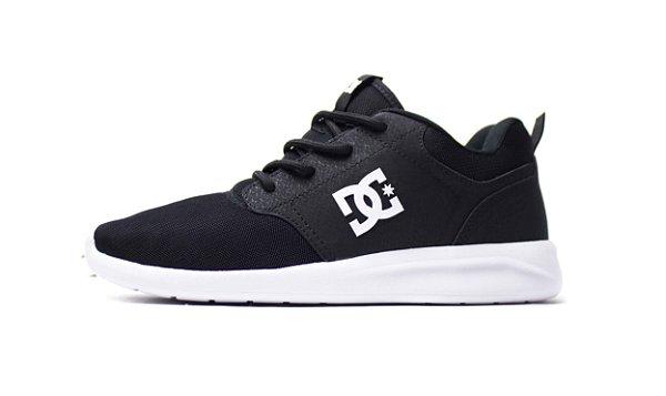 Tênis Dc Shoes Midway - BLACK/WHITE