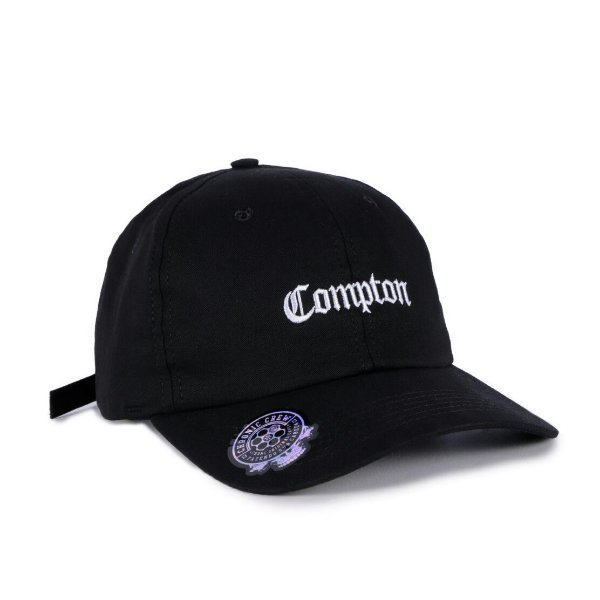 BONÉ DAD HAT CHRONIC COMPTON - PRETO