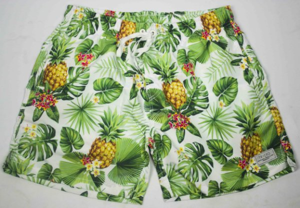 SHORT TRICKO ABACAXI  - GREEN