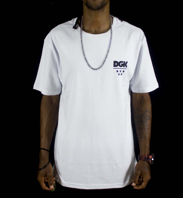 CAMISETA DGK ALL STAR - BRANCA