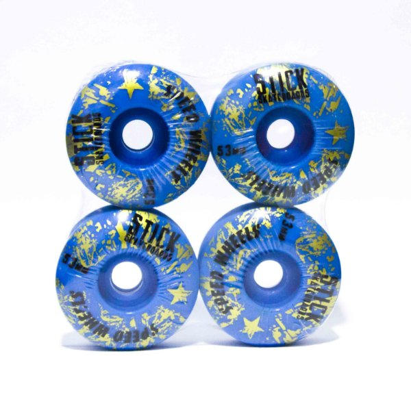 RODA STICK SKATEBOARD 53MM - AZUL