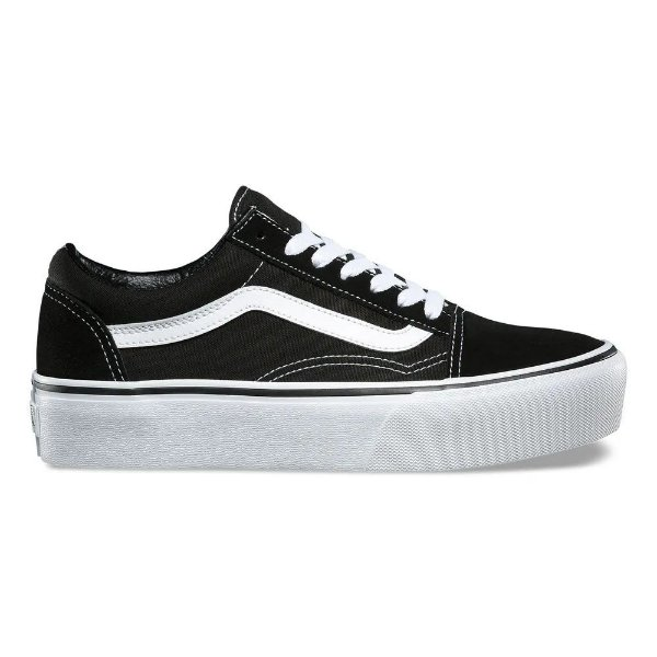 TÊNIS VANS OLD SKOOL PLATFORM - BLACK/WHITE