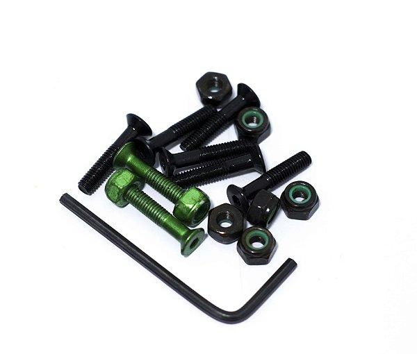 PARAFUSO DE BASE -  metallic green