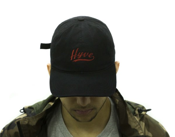BONÉ DAD HAT HYVE LOGO - BLACK