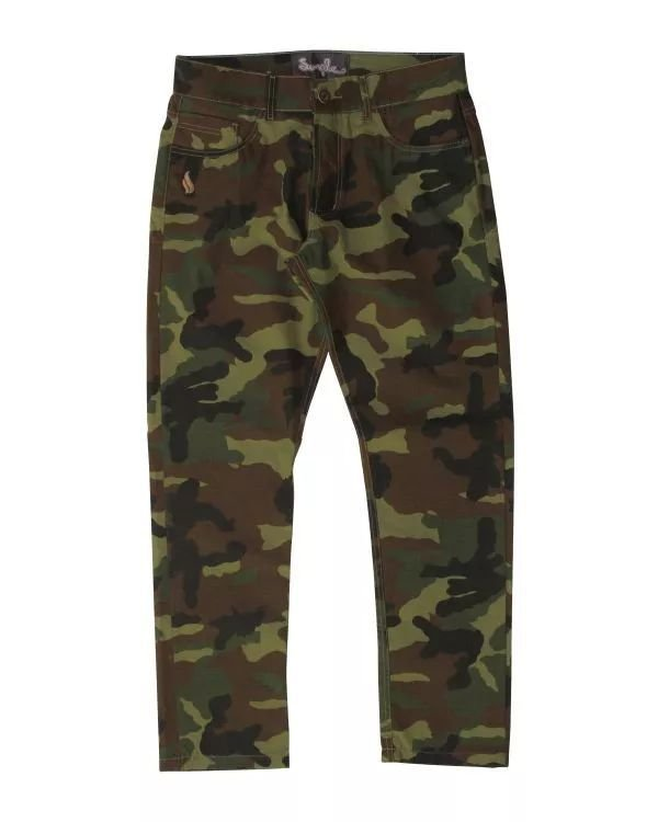 Calça Simple tradicional Camuflada Soldier