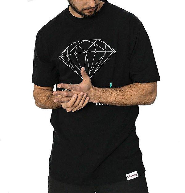 CAMISETA DIAMOND OG SING - BLACK