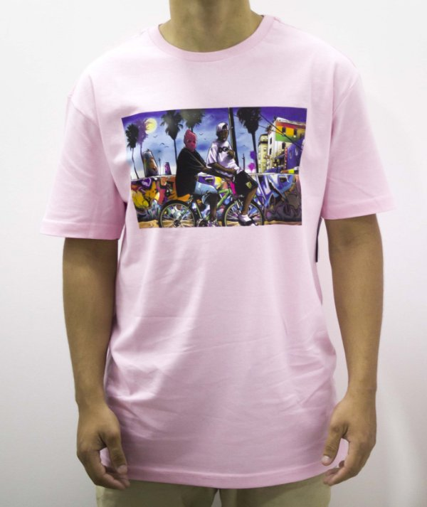 Camiseta especial dgk Venice - Pink