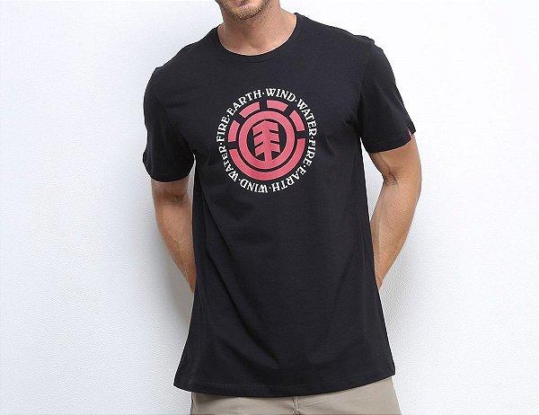 Camiseta Element Seal - Preto