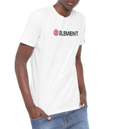 Camiseta Element Blazin Branca