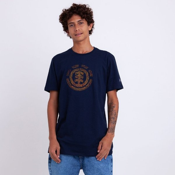 CAMISETA ELEMENT BRIGHTER DAYS - MARINHO