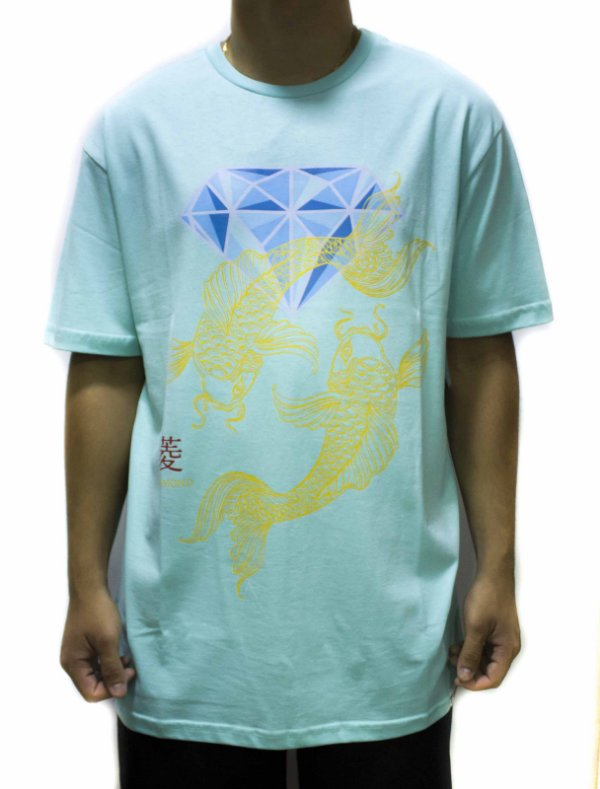 CAMISETA DIAMOND ESPECIAL POND TEE - BLUE