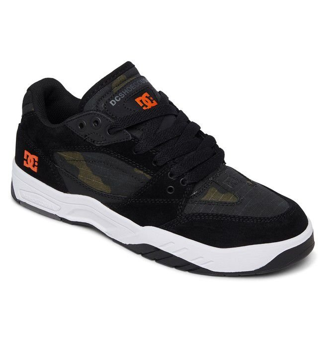 TÊNIS DC SHOES MASWELL SE LEATHER - BLACK PRINT