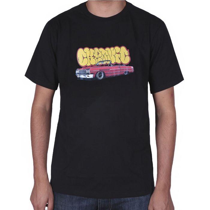 Camiseta Chronic Bomb Logo - preta