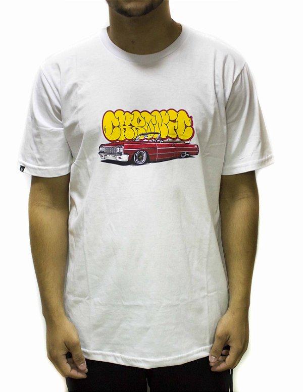 Camiseta Chronic Bomb Logo - Branca