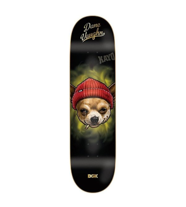 "Shape DGk Importado maple Dane Vaughn Spirit 8.0""+ LIXA IMPORTADA EMBORRACHADA"