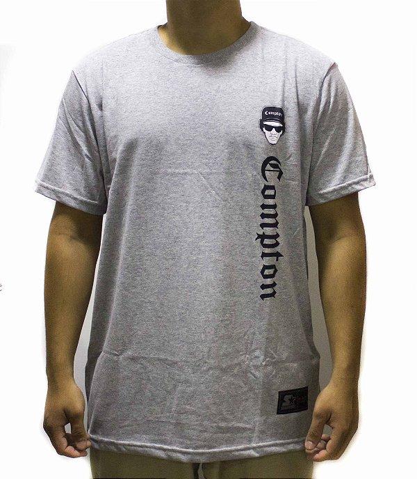 Camiseta Starter Básica Compton EAZY-E  Cinza