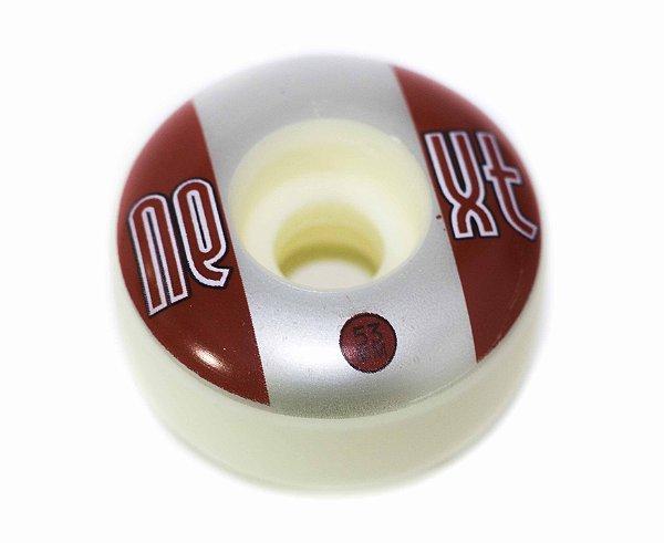 RODA NEXT WHEELS 53MM 100A RED/SILVER/WHITE