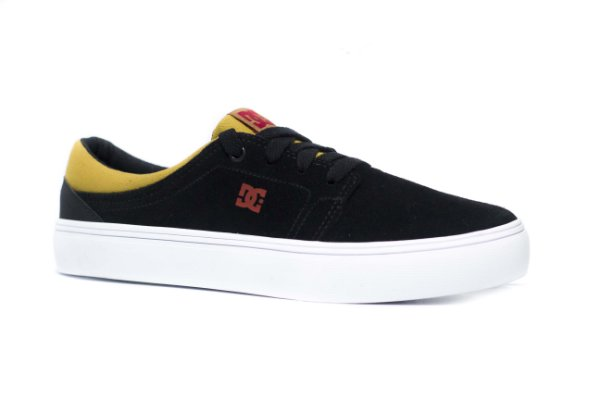 TÊNIS DC SHOES TRASE SD - BLACK/RED/BLACK