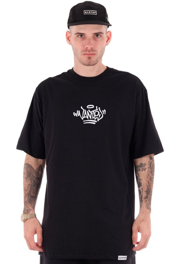 Camiseta Wanted – Logo Pixo preto