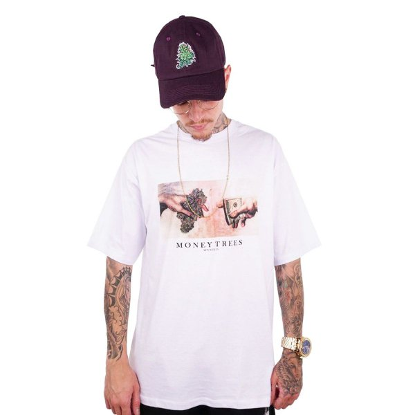 CAMISETA WANTED – MONEY TREES - BRANCA