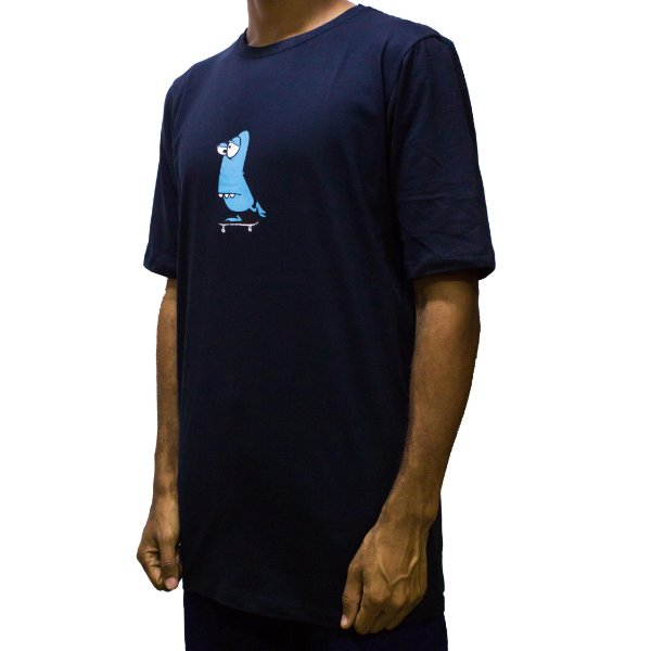 CAMISETA ASPECTO DECKS ROWING - PRETA