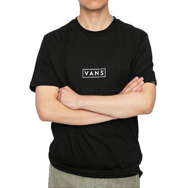 Camiseta Vans Easy Box Black