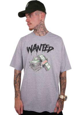 Camiseta Wanted - Authentic - CINZA