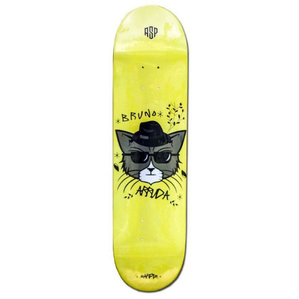 "SHAPE ASPECTO GANG PRO MODEL BRUNO ARRUDA HEAT TRANSFER 8.0"" + LIXA GRATIS"