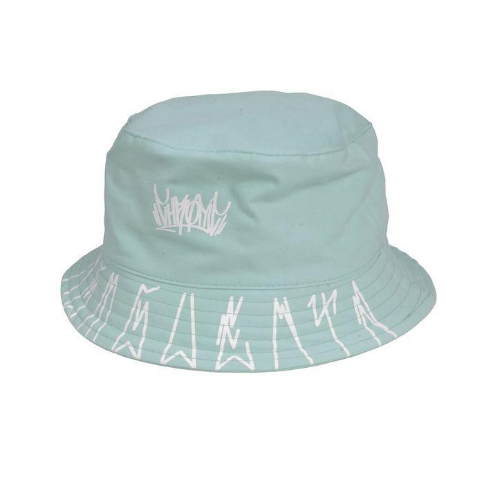BUCKET HAT CHRONIC TAG LOGO - BABY BLUE