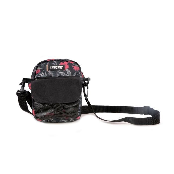 SHOULDER BAG CHRONIC FLORAL LOGO