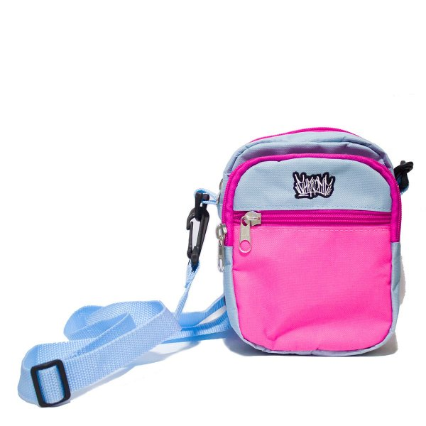 SHOULDER BAG CHRONIC MINI LOGO TAG - BLUE/PINK