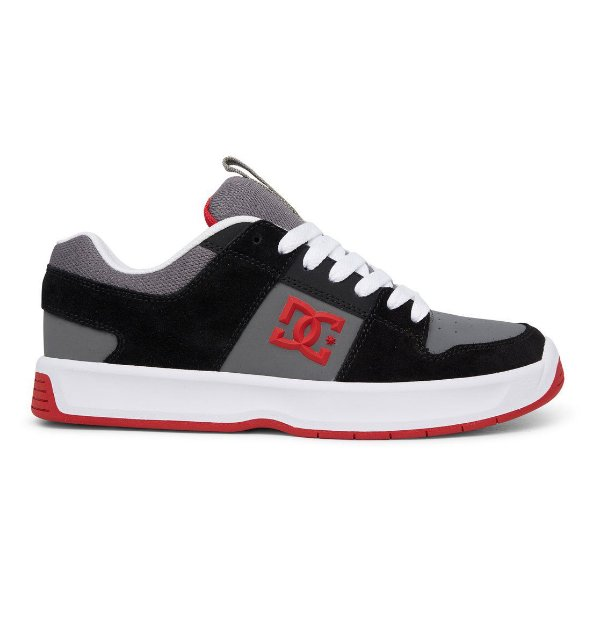 TÊNIS LYNX ZERO 1.5 DC SHOES - BLACK/GRYE/RED