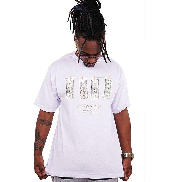 Camiseta Wanted – Dollar - Branca
