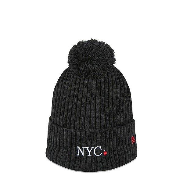 GORRO NEW ERA NYC APPLE - PRETO