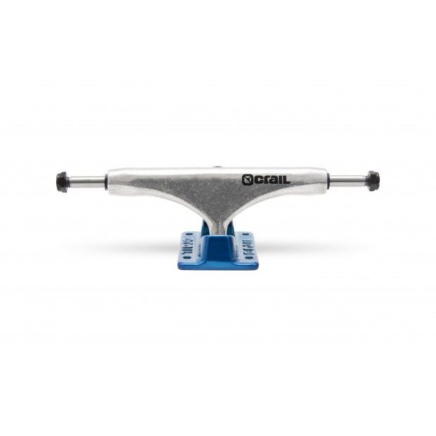 TRUCK CRAIL MID 129 SOLID LOGO BLUE/SILVER