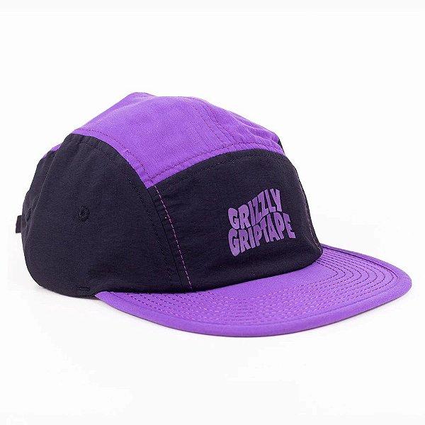 HEADWEAR GRIZZLY FIVE PANEL GRIPTAPE CAP HAT - I20GRB31