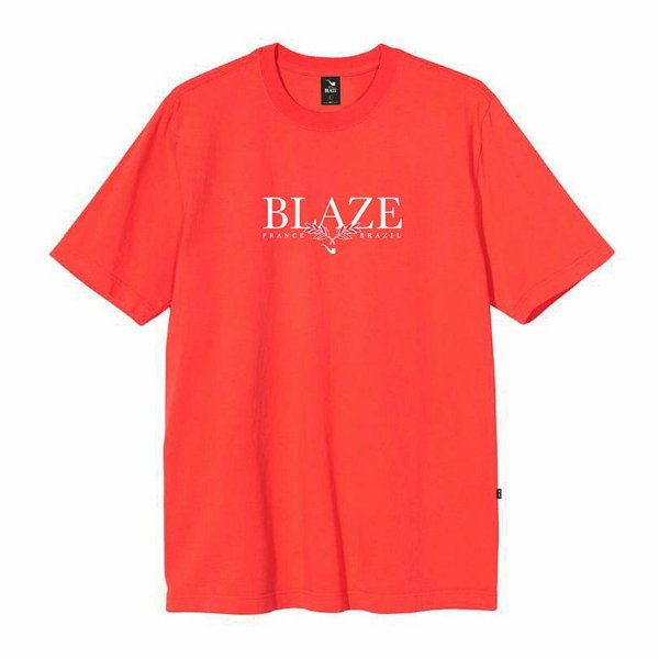 Camiseta Blaze supply Tee Leaf Orange