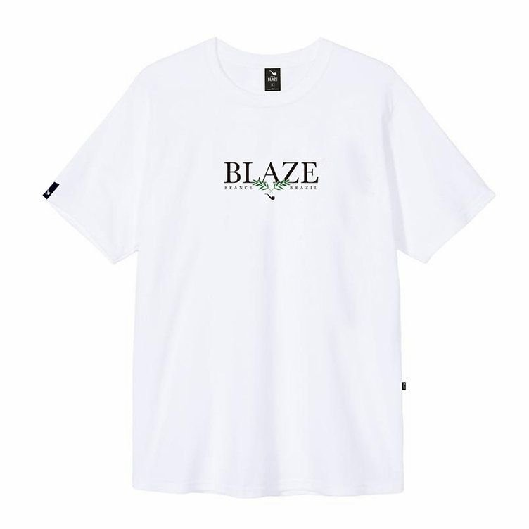 Camiseta Blaze supply Tee Leaf White