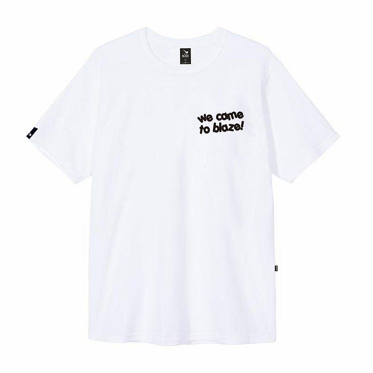 Camiseta Blaze Supply Tee We Came To Blaze White