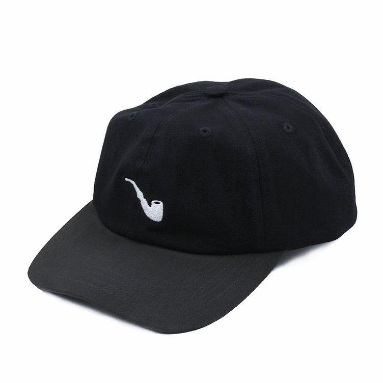Boné Blaze Supply Dad Hat Strapback Pipe Black Grey
