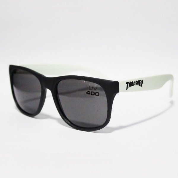 Óculos Thrasher Mag Sunglasses Uv400 Black/White
