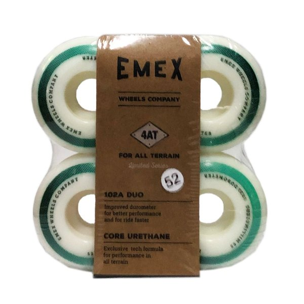RODA EMEX IMPORTADA CORE URETANE 52MM WHITE - SERIE 4AT 102a DUO
